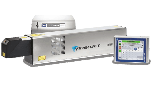 Videojet 3640 Laser Marking Machine - 60W CO2